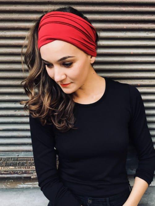 bandeau-a-cheveux-a-scratch-rouge-grenat-pour-pelade-alopecie