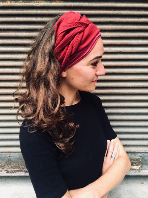 foudre_bandeau_a_cheveux_large_coton_rouge_alopecie