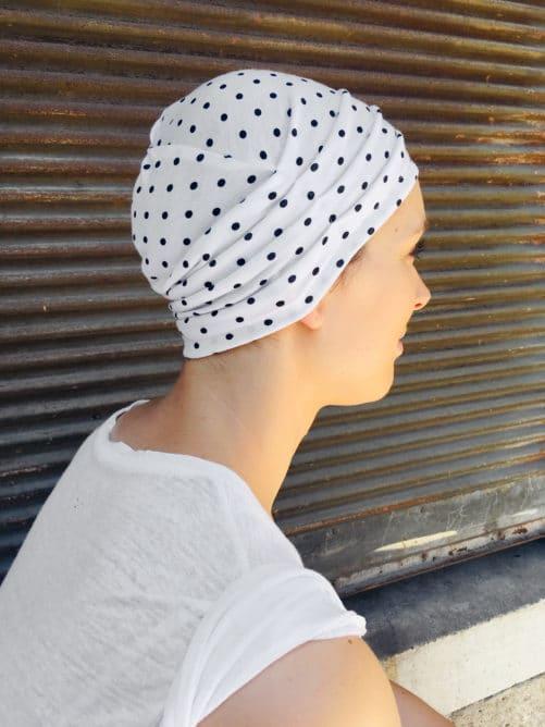 bonnet_chimiotherapie_a_pois_coton