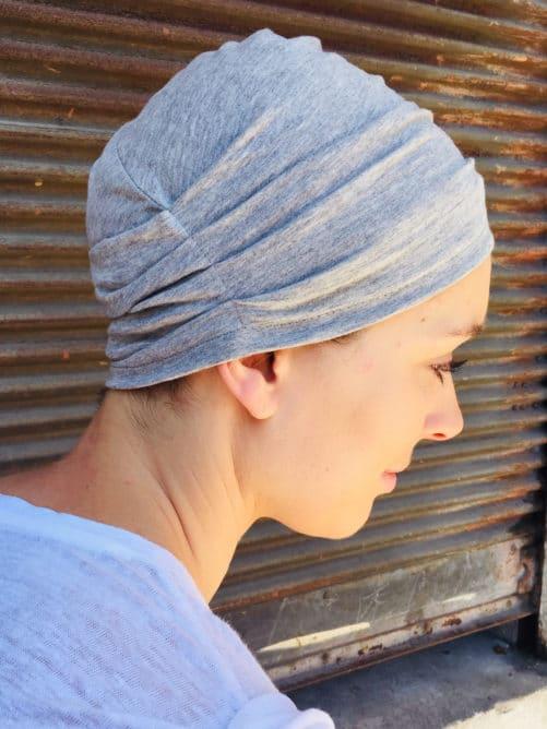 bonnet_chimiotherapie_coton_bio_gris