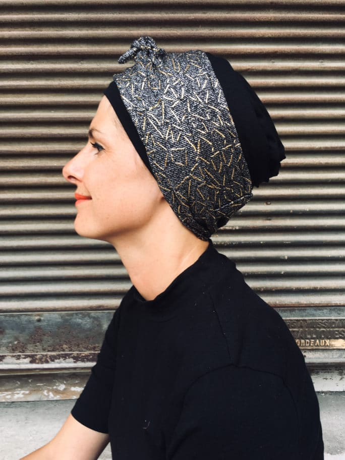 turban_chimiotherapie_foulard_dore