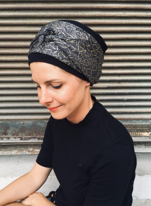 turban_chimiotherapie_foulard_argente