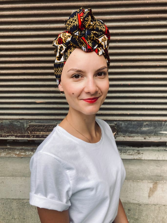Turban pour chimiothérapie Wax Pride
