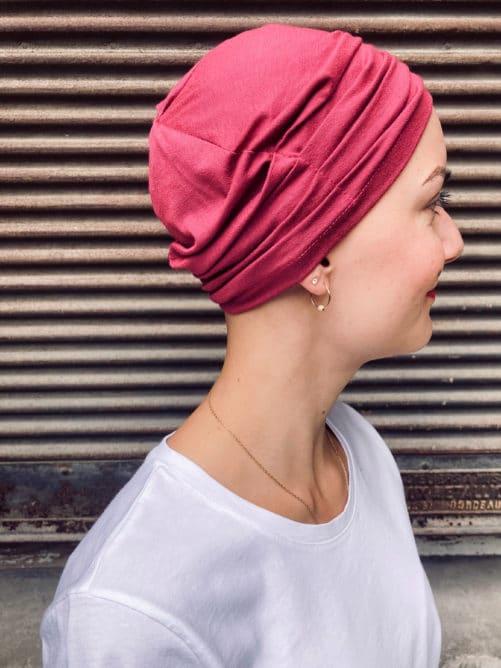 Bonnet chimiothérapie pour pelade et alopécie Kiss