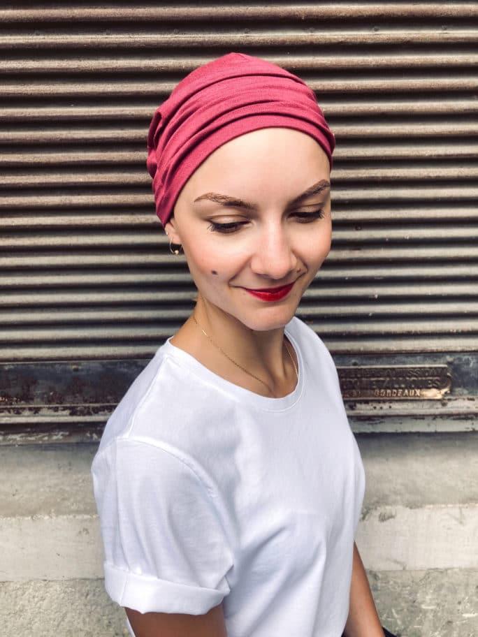 Bonnet chimio, pelade et alopécie Kiss