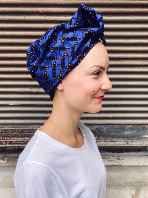 Turban chimiothérapie en Wax africain Luciole