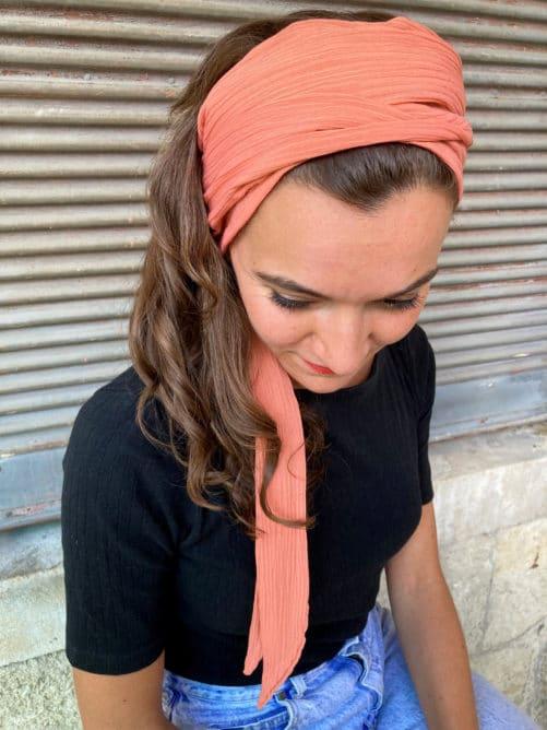 bandeau_a_cheveux_pelade_corail