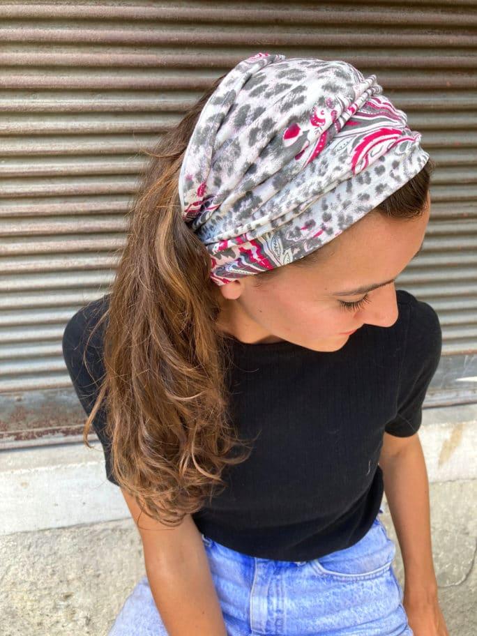 bandeau_a-cheveux_hypoallergenique_leopard_gris