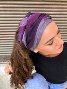 foulard_cheveux_large_raye_violet
