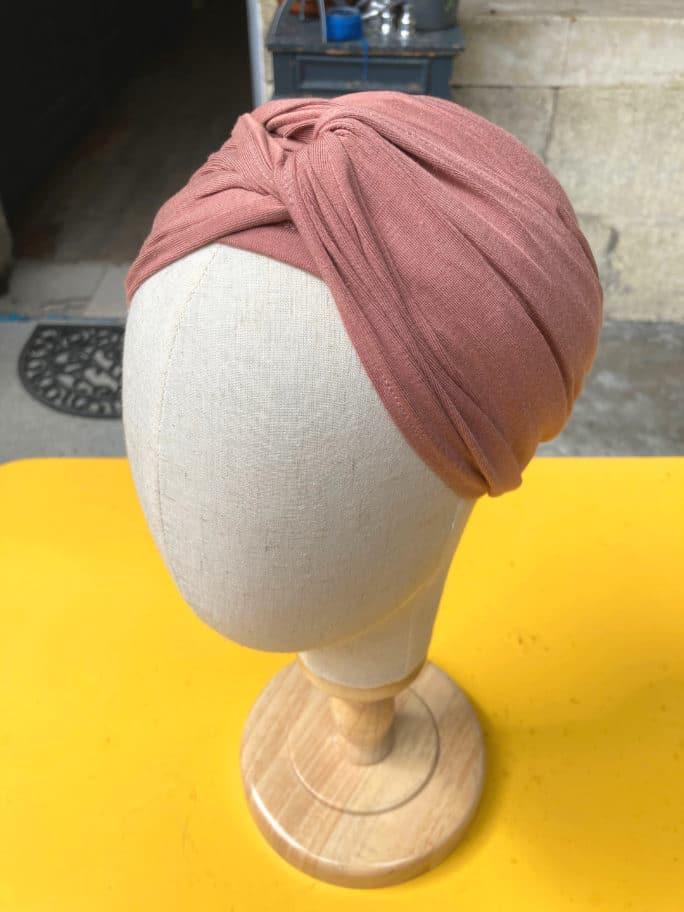 turban_chimiotherapie_bambou_rose_poudre