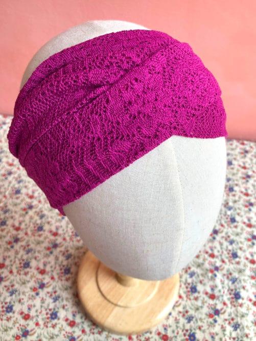 foulard-chimio-dentelle-fushia