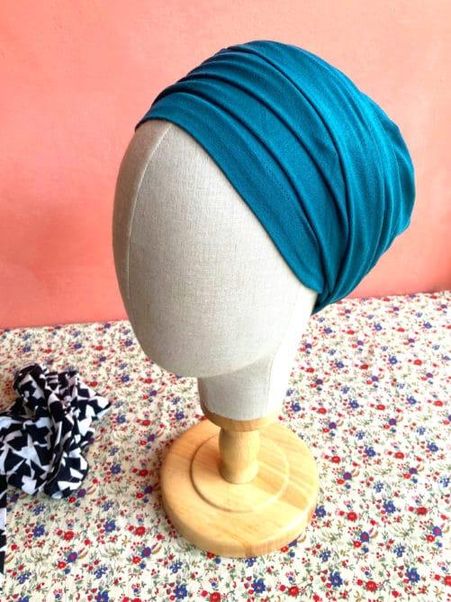 turban-chimio-chaussette-emeraude